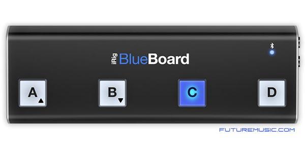 iRig Blueboard wireless midi pedalboard