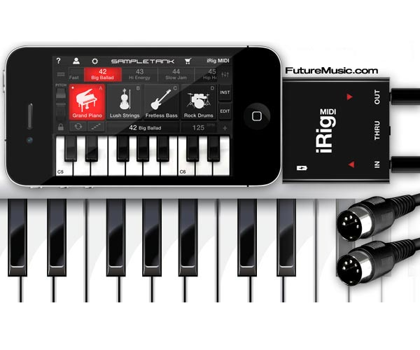IK Multimedia Announces iRig MIDI