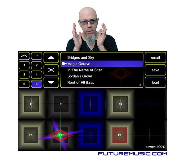 Jordan Rudess / Wizdom Music Release GEO Synthesizer App