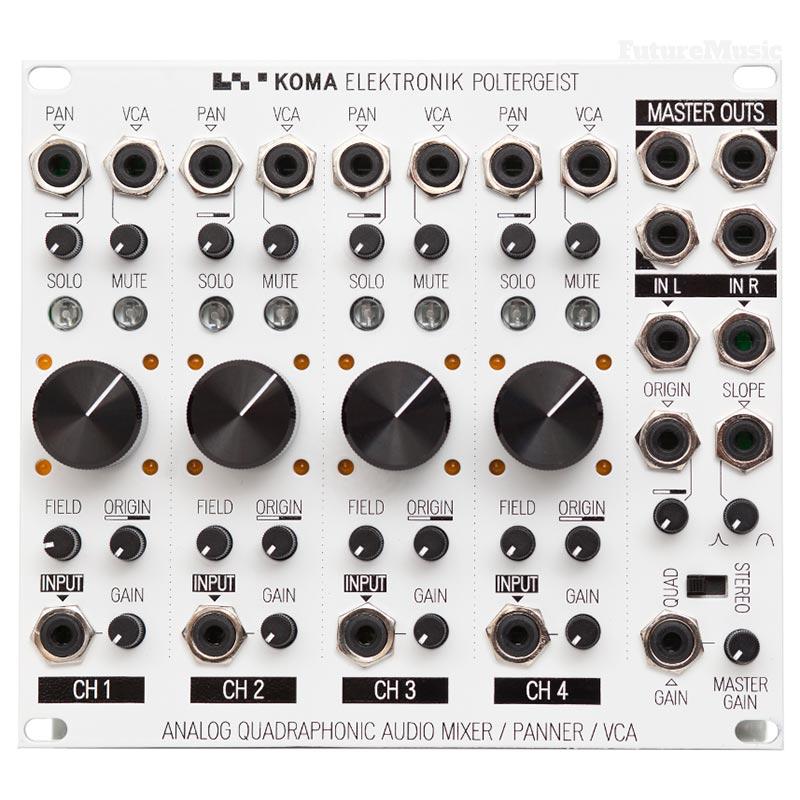koma poltergeist quadraphonic eurorack mixer