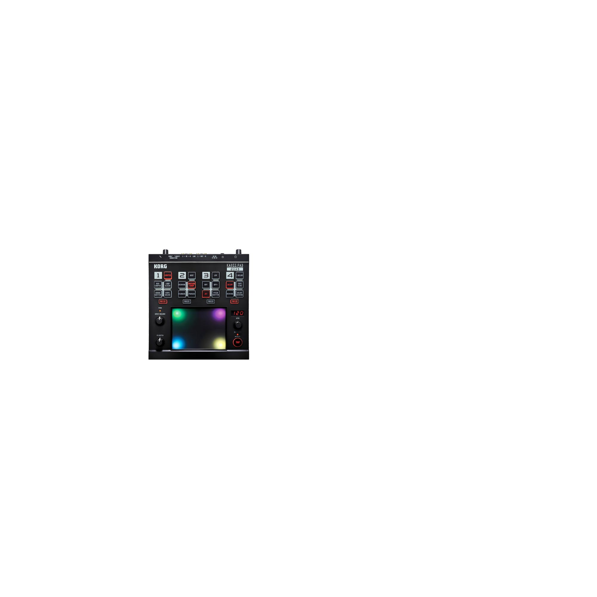 Korg Releases Kaoss Pad Quad