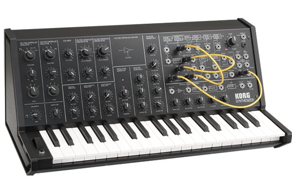 Korg MS-20 Mini – 2013 Gear Of The Year Award Winner – Best Sub $1000 Hardware Synth