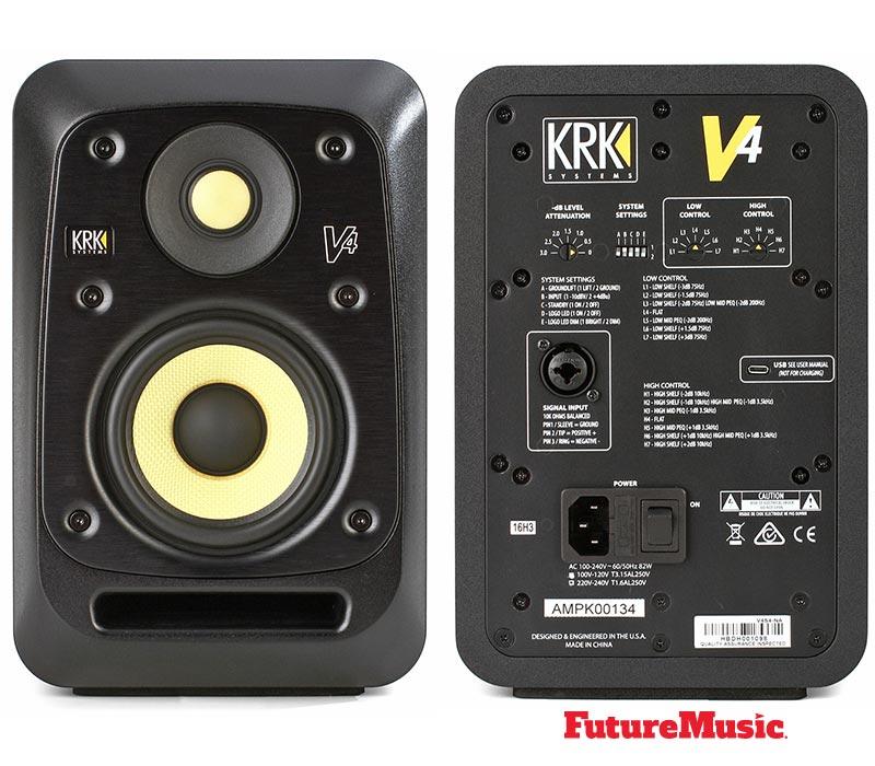 krk system v4 s4 audio monitors