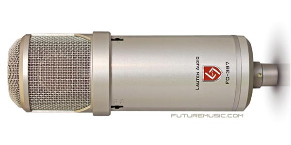 Lauten Audio Premiers FC-387 Atlantis Solid-State Condenser Microphone