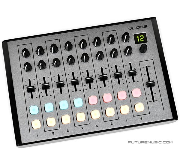 Livid Instruments Now Shipping Alias 8 MIDI Controller