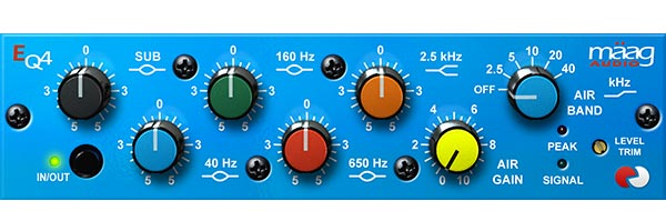 Maag EQ4 Front Interface
