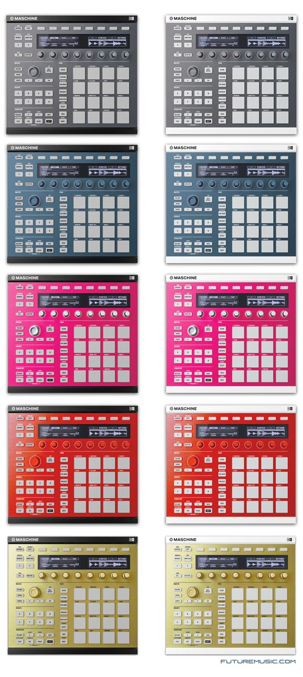 Maschine mkII Custom Kits
