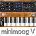 MiniMoog V by Arturia