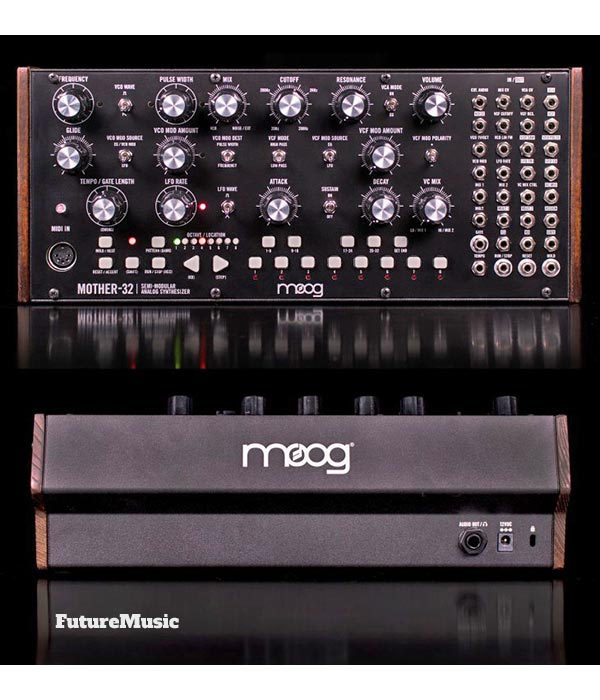 moog-Mother32 front back analog synth