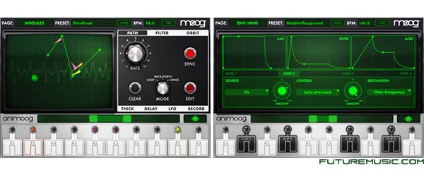 Moog Music Releases Animoog App For iPhone