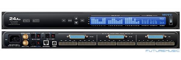 motu motu-24Ao computer audio interface usb