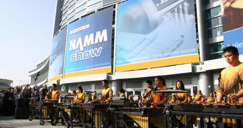 NAMM 2005 Front Entrance