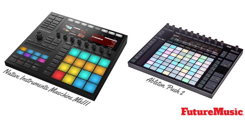 native instruments maschine mk3 vs Ableton Push 2 FutureMusic