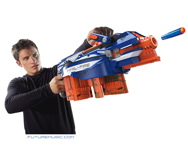 nerf hail fire elite