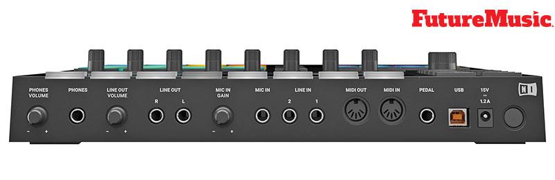native instruments maschine mk3 rear connectivity FutureMusic