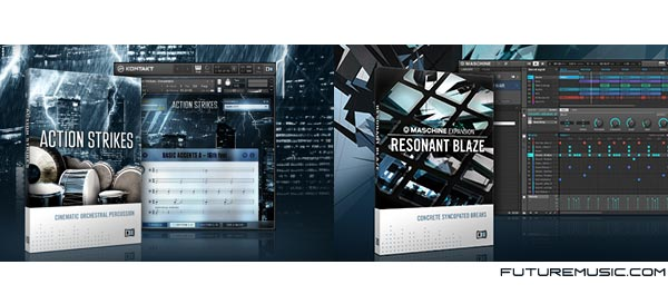 Native Instruments Announces Resonant Blaze Maschine 2.0 Expansion & Action Strikes Sample Packs