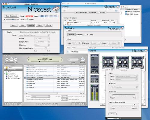 NiceCast Interface