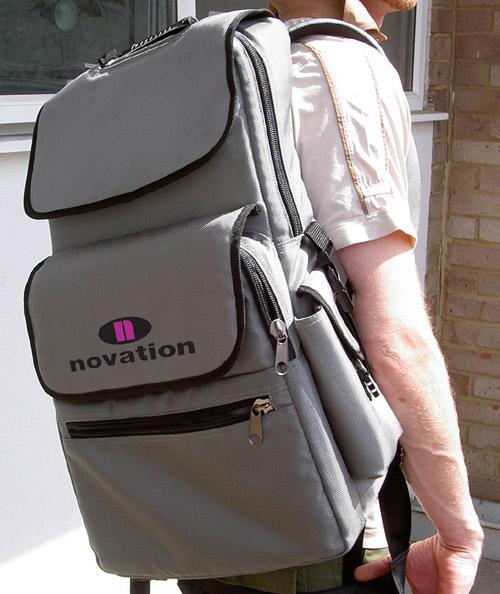 novation's nauseating backpack