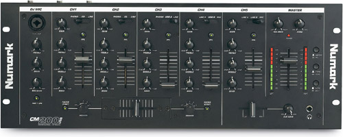 numark CM200USB mixer