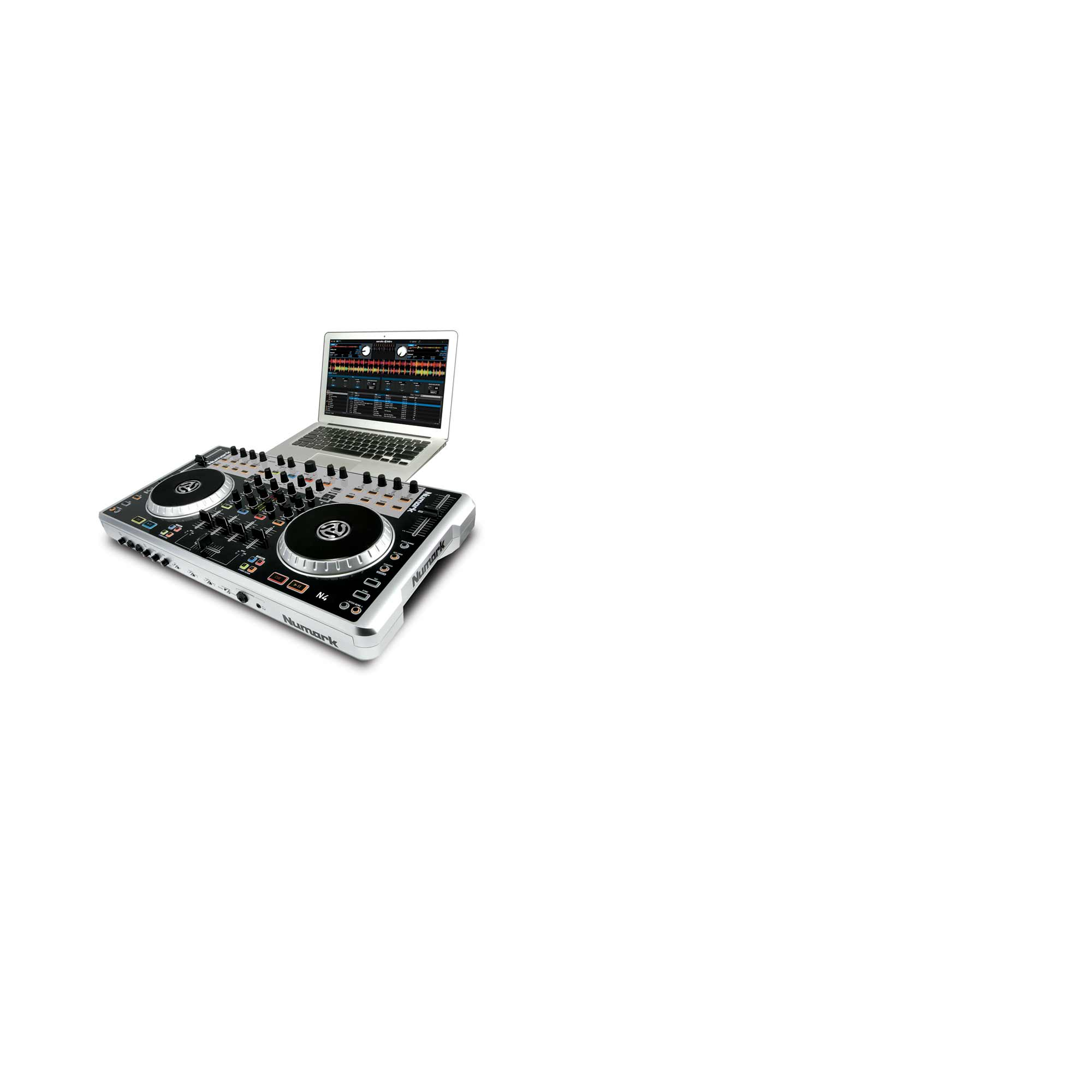 Numark Announces N4 – DJ MIDI Controller / Audio Interface / Mixer