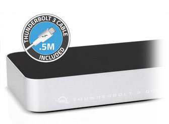 OWC Thunderbolt 3 Dock Review Macro