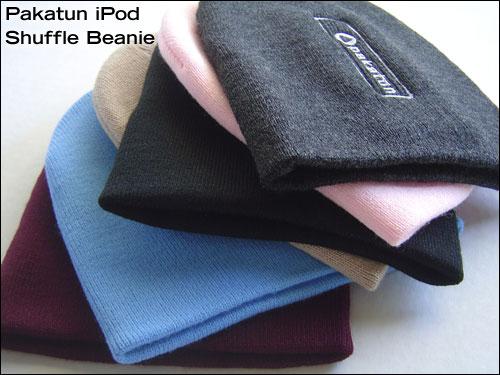 Pakatun iPod Shuffle Beanie Colors