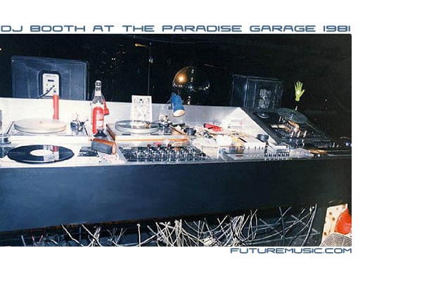 DJ Booth At The Paradise Garage