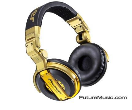 Blinged pioneer hdj-1000 gold