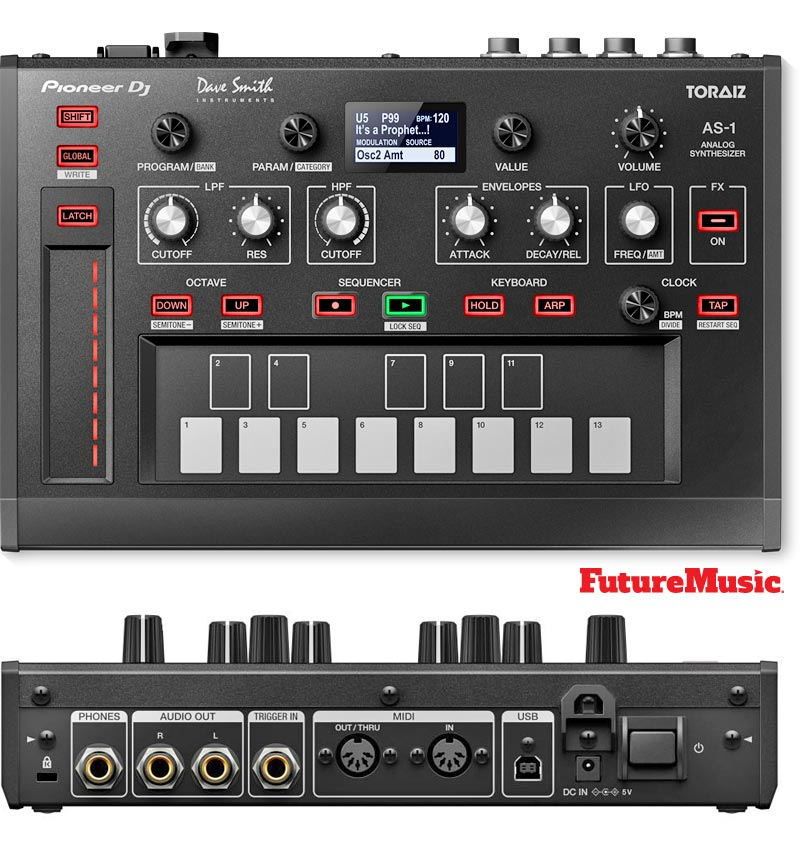 pioneer toraiz as-1 FutureMusic