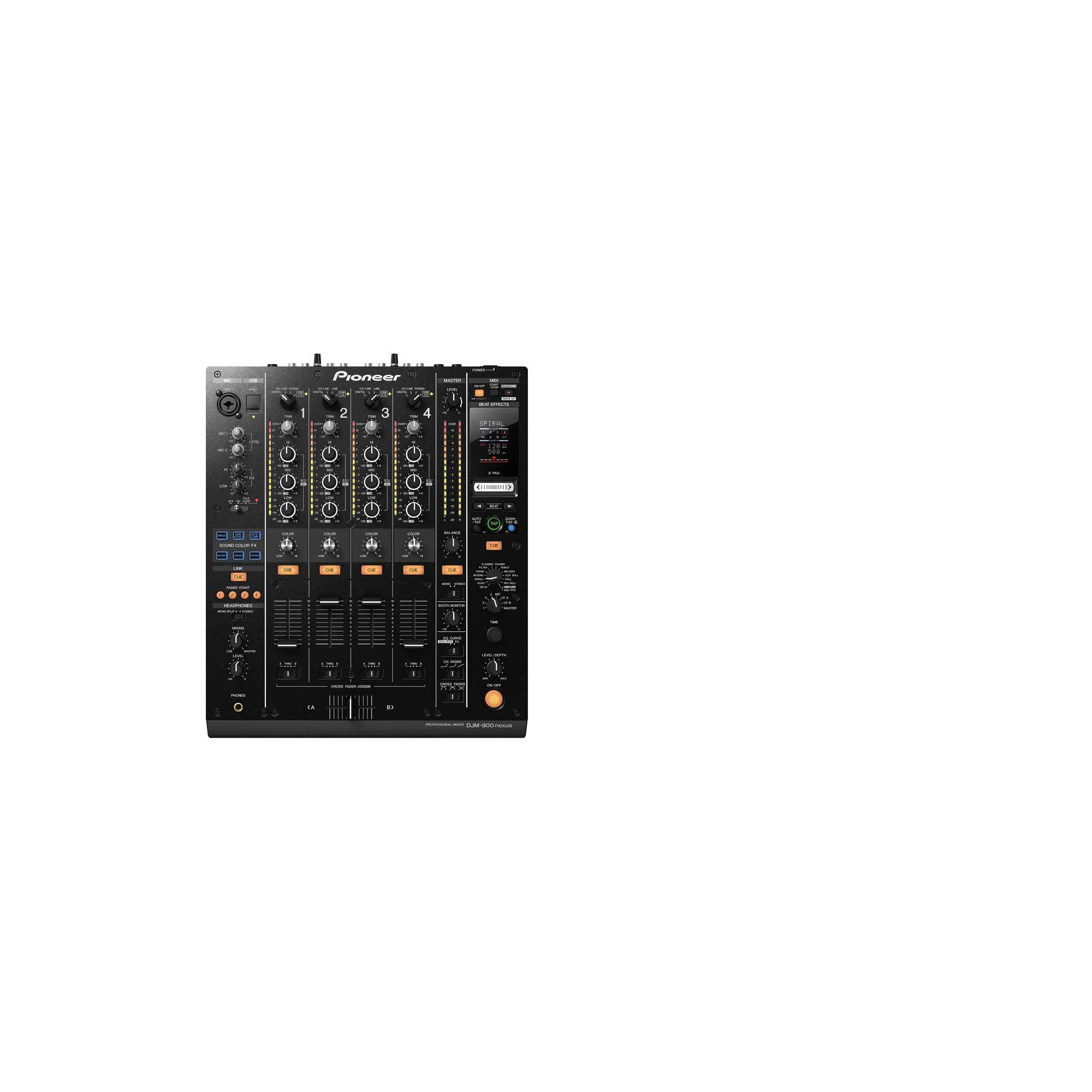 Pioneer's New DJM-900 Digital DJ Mixer Targets DJ's Life Savings