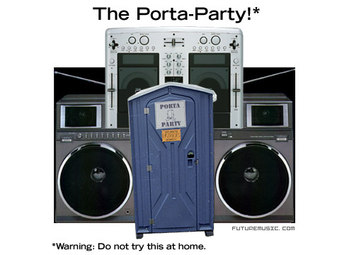 The Futuremusic Porta-Party