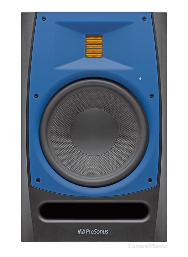 presonus r80 studio monitor front