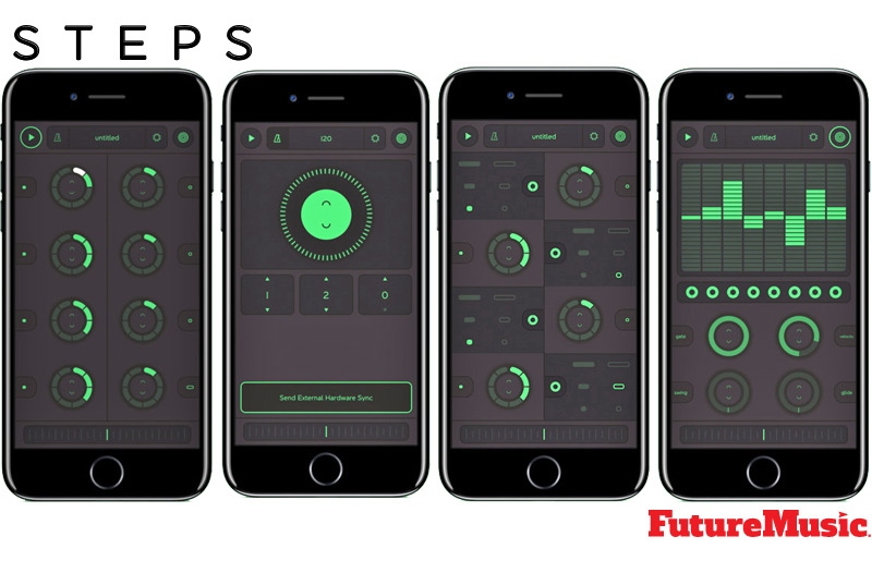 reactable steps screens FutureMusic
