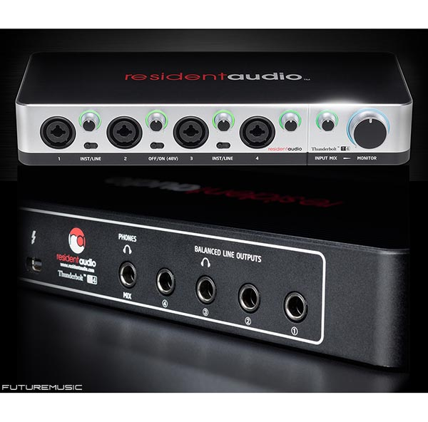 resident-audio-T4 Thunderbolt audio interface