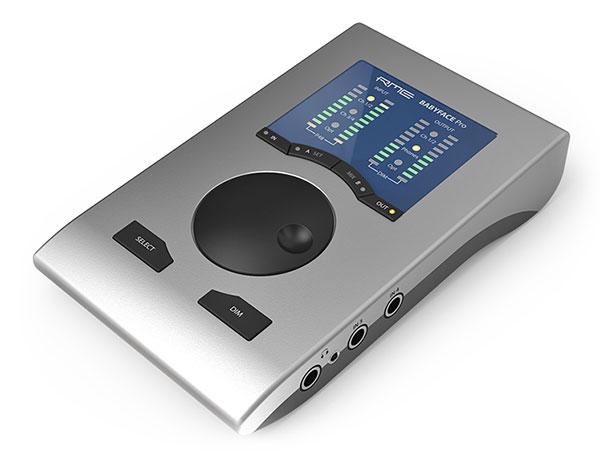 rme babyface pro computer audio interface