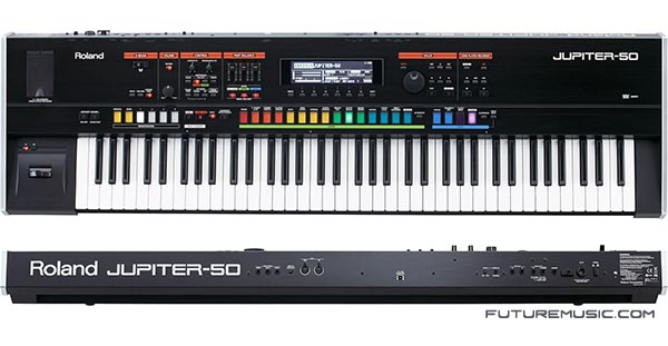 Roland Trots Out Jupiter-50 Synth – Updates Jupiter-80 OS To 2.0