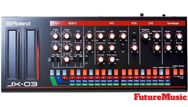 Roland Jx-03 - New JX-3P Reboot