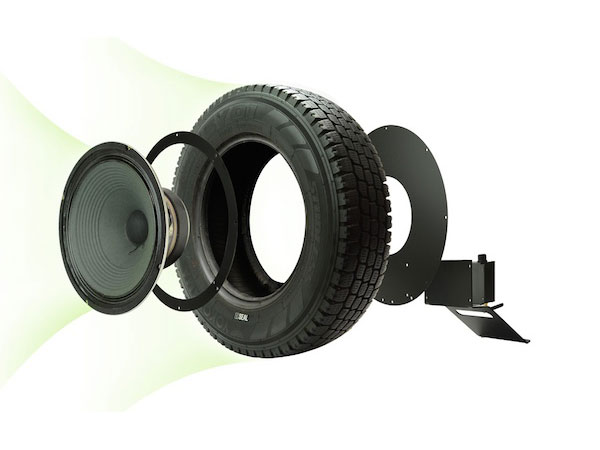 seal-recycled-tire-speaker-parts how to make