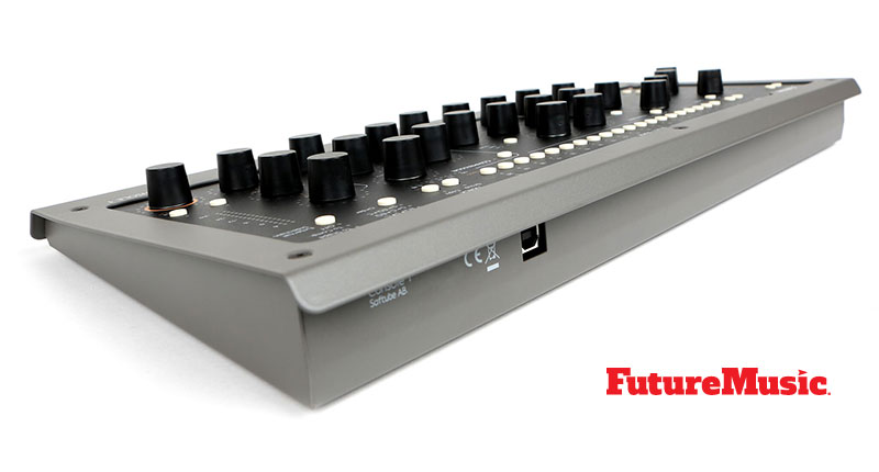softube console1 mk2 Rear View FutureMusic