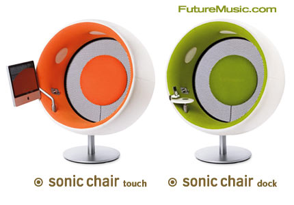 sonic chair offers new models touch dock futuremusic. Black Bedroom Furniture Sets. Home Design Ideas