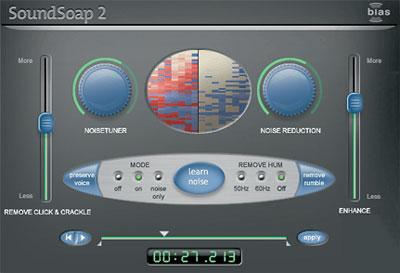 Sound Soap 2 Interface