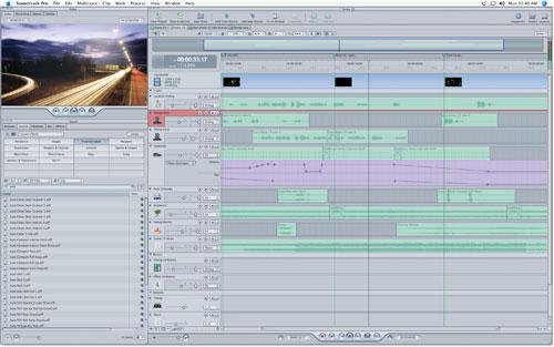 Soundtrack Pro Track Editor