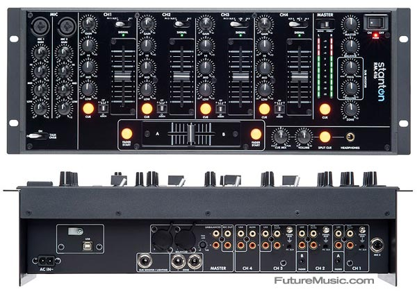 Stanton Premiers RM.416 – Affordable 4-Channel Club Mixer