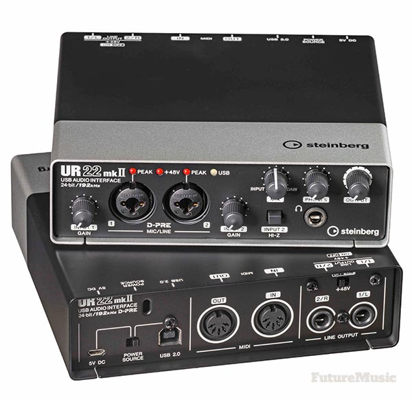 steinberg ur22 mk2 audio midi computer interface