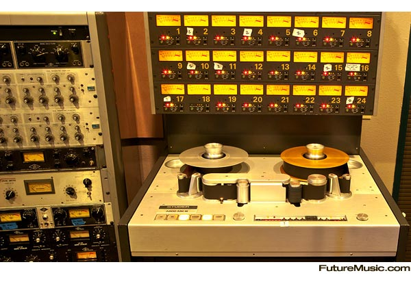Multitrack Tape Recorder. Multichannel Tape Recorder