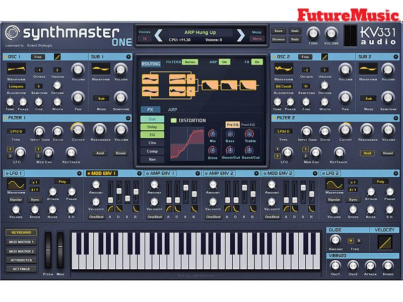 synthmaster one FutureMusic