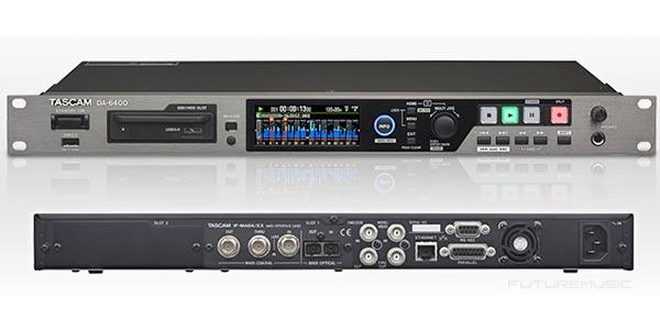 tascam da-6400 64-Channel Digital Multitrack Recorder/Player