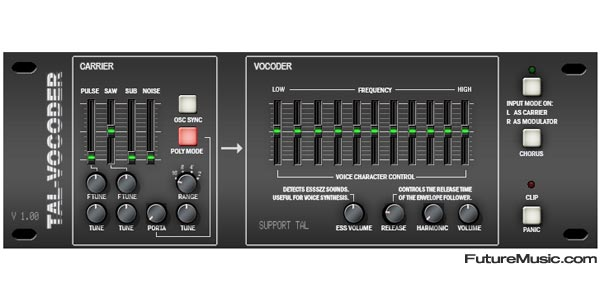 Free Vocoder Plug-in