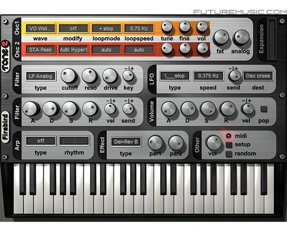 Tone2 Free Firebird
