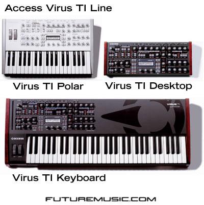 Access Virus TI Lineup